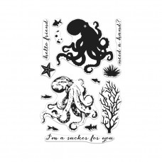Hero Arts - Color Layering Octopus - Clear Stamps 4x6