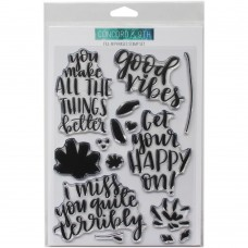 Concord & 9th - Fill-In Phrases - Clear Stamp 6x8