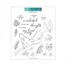 Concord & 9th - Songbird - Clear Stamp 6x6