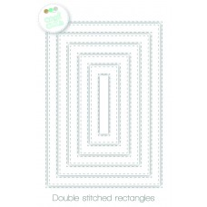 Create A Smile - Double Stitched Rectangles - Stanzen