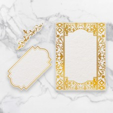 Couture Creations - Cut, Foil & Emboss Die - Gardenia Frames