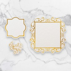 Couture Creations - Cut, Foil & Emboss Die - Just For You Frames