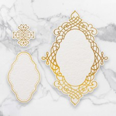 Couture Creations - Cut, Foil & Emboss Die - Quartet Frames