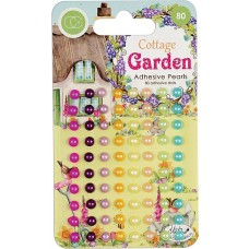 Craft Consortium - Cottage Garden - Adhesive Pearls