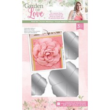 Crafters Companion - Garden of Love - 3D Layered Rose