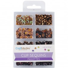 Cup Sequins Pailettes - Box Of Chocolate