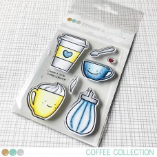 Create A Smile - Coffee Collection - Clear Stamps 3x4