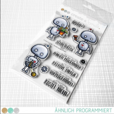 Create A Smile - Ähnlich Programmiert - Clear Stamps 4x6