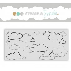 Create a Smile - Cloudy Day - Cling Stamp