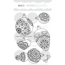 Create A Smile - Delicate Decorations - Clear Stamps 4x6