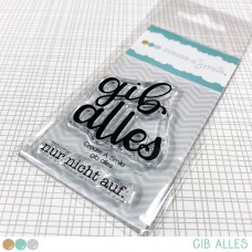 Create A Smile - Gib Alles - Clear Stamps 2x3