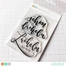 Create A Smile - Lächeln - Clear Stamps 3x4
