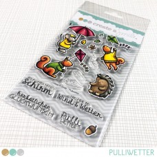 Create A Smile - Pulliwetter - Clear Stamps 4x6