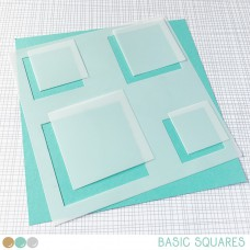 Create A Smile - Schablone - Basic Squares