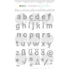 Create A Smile - Stempelset 4x6 - Crystal Letters - Lower