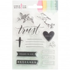 Creative Devotion - Pray - Clear Stamps 4x6
