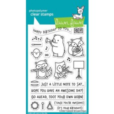Lawn Fawn - Critter Concert - Clear Stamps 4x6