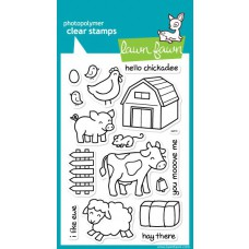 critters on the farm stempel