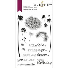Altenew - Dandelion Wishes - Clear Stamp 4x6