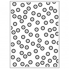 "Darice - Background Embossing Folder 4.25""x5.75"" - Sequin Background"