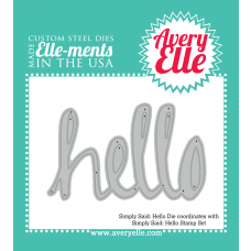 Die: Simply Said: Hello Elle-ments