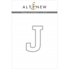 Altenew - Mega Alphabet J - Stanze