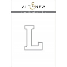Altenew - Mega Alphabet L - Stanze