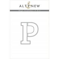 Altenew - Mega Alphabet P - Stanze