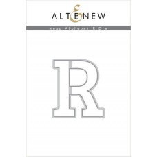 Altenew - Mega Alphabet R - Stanze