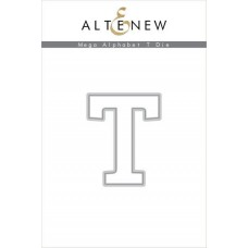 Altenew - Mega Alphabet T - Stanze