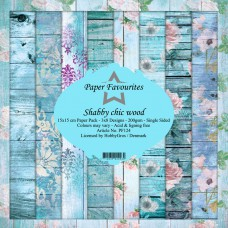 Paper Favourites - Shabby Chic Wood - Paperpad 6x6