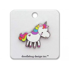 Doodlebug Pin Unicorn