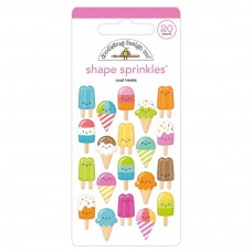 Doodlebug Sticker Shape Sprinkles Cool Treats