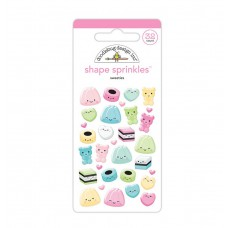 Doodlebug Sticker Shape Sprinkles Sweeties
