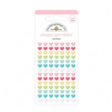 Doodlebug Sticker Shape Sprinkles Tiny Hearts