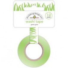 Doodlebug Washi Tape Green Grass (Rolle mit 12 Yards)