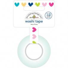 Doodlebug Washi Tape 15mmx12yd (ca. 11m) Lots of Love