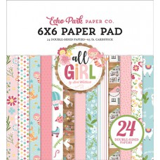 Echo Park Paper Co. - Paperpad - All Girl 6x6