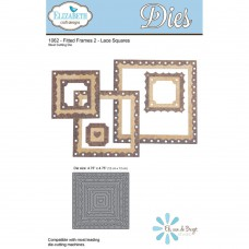 Elizabeth Craft Designs - Fitted Frames 2 Lace Squares