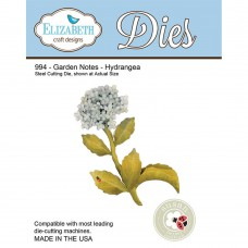 Elizabeth Craft Designs - Garden Notes - Hydrangea