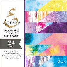 Altenew - Paper Pack 24 Seiten 6x6 - Enchanting Washes