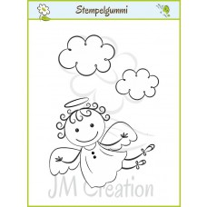 JM Creation - Engelchen Locki - Clear Stamp