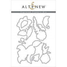 Altenew - Engraved Flowers - Stanzen