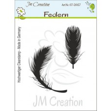 JM Creation - Federn - Rubberstamp