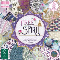 First Edition - Free Spirit - Paper Pad 6x6
