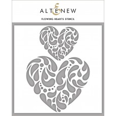 Altenew - Schablone - Flowing Hearts