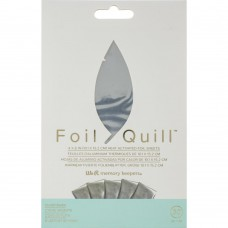 Foil Quill - Heat Activated Foil Sheets - Silver Swan