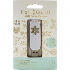 Foil Quill - USB Drive - Holiday