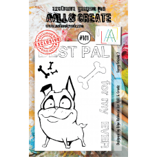 AALL & Create - A7 Stamps - Furry Friends 2