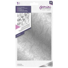 Gemini Foil Stamp Die - Elements - Ornate Swirls Background